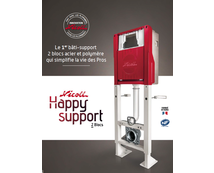 Innovation bâti-support : NICOLL HAPPY SUPPORT