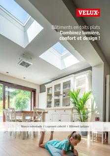 Catalogue Brochure Solutions Toits plats VELUX