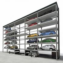 Parking automatique - transport avec palettes | SlimParker 557