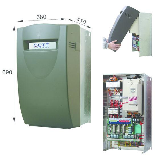 Consulter sur Batiproduits le détail : Armoire de manoeuvre pour ascenseur à variateur de fréquence
