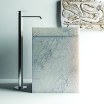 Lavabo en marbre sur socle | Permano free-standing Collection Filodesign