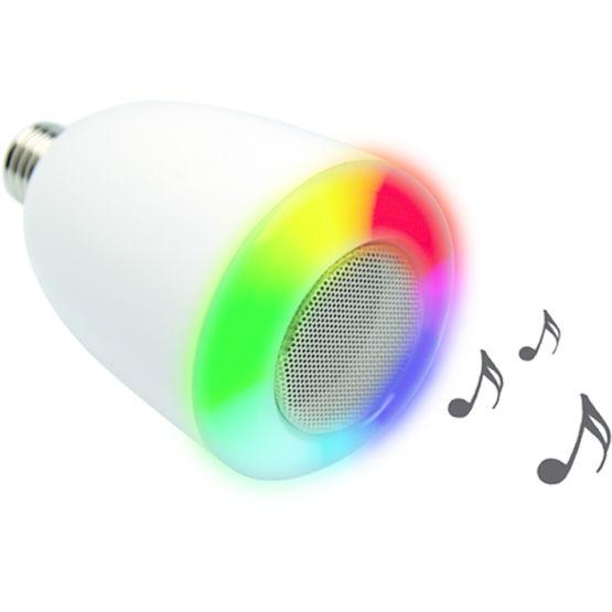 Consulter sur Batiproduits le détail : Lampe LED avec haut-parleur et connexion WiFi