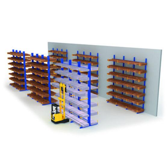Consulter sur Batiproduits le détail : Rayonnage modulaire
