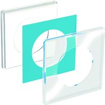 Appareillage à plaque transparente personnalisable | Odace You