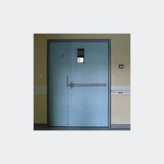 Blocs portes cf 1h de grandes dimensions asservis ou non for Dimension bloc porte