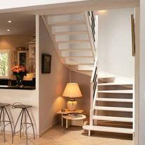 escalier en bois quart tournant sans contremarche quart tournant limon central escalier bois. Black Bedroom Furniture Sets. Home Design Ideas