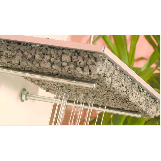 Consulter sur Batiproduits le détail : Béton drainant décoratif pour création de dallage extérieur