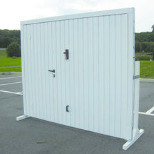 Autres types de portes de garage produits du btp for Porte garage mischler