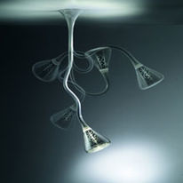 Suspension orientable pour lampes fluocompactes | Pipe
