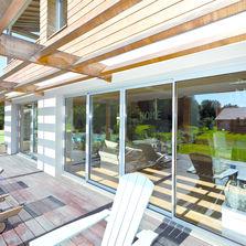 minco fabricant de menuiserie mixte bois aluminium fournisseur btp. Black Bedroom Furniture Sets. Home Design Ideas