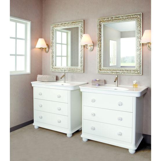 Meuble de salle de bain de type commode detremmerie - Commode salle de bain ...