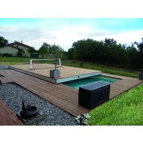 Terrasse mobile pour piscine | Movingfloor