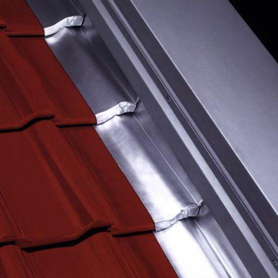 Raccord de chemin e en zinc lisse ou pliss rheinzink - Etancheite cheminee toiture fiche technique ...