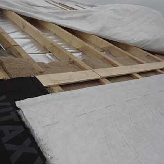 Complexe d 39 isolation pour toitures de combles valtech industrie - Plaque d isolation pour toiture ...