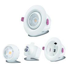Spot LED orientable et interchangeable