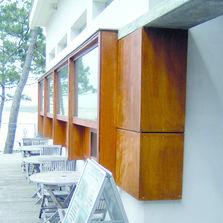 Panneau planche en bois ou d riv s produits du btp for Okoume exterieur