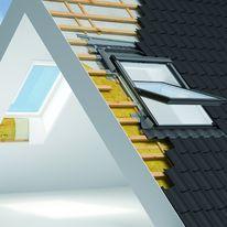 combinaison all ge et fen tre de toit verri re plane velux. Black Bedroom Furniture Sets. Home Design Ideas
