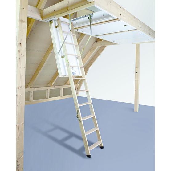 Escalier escamotable isol roto frank for Comescalier escamotable pour grenier