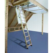 escalier autoportant en bois avec marches en console. Black Bedroom Furniture Sets. Home Design Ideas