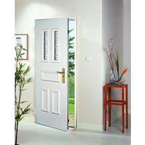 Porte d'entrée en acier à isolation thermique intégrée | TEXAS - MAB