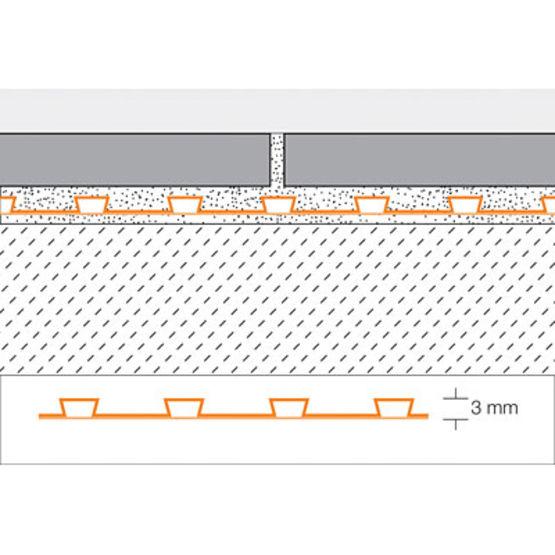 Carrelage Design natte d étanchéité sous carrelage : Du00e9solidarisation sous carrelage en ru00e9novation intu00e9rieure ...