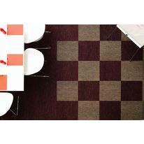 Dalle de moquette en 44 teintes chin es eco pilote balsan for Moquette rayee
