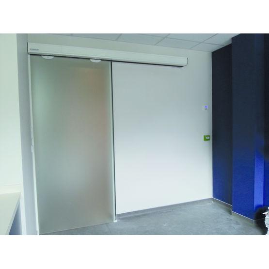 Vantail vitr pour portes automatiques portalp - Porte automatique portalp ...