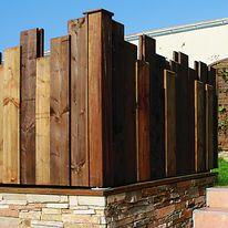 panneau de cl ture lames d structur es m li m lo piveteaubois. Black Bedroom Furniture Sets. Home Design Ideas
