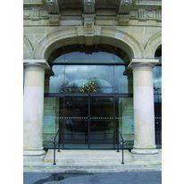Porte automatique coulissante un ou deux vantaux portalp - Porte automatique portalp ...