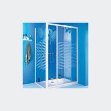 parois de douche avec porte coulissante produits du btp. Black Bedroom Furniture Sets. Home Design Ideas