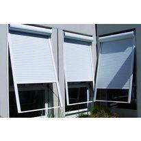 volet roulant lectrique ou nergie solaire pour fen tre de toit volets roulants velux. Black Bedroom Furniture Sets. Home Design Ideas