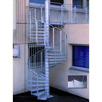 escalier droit industriel g om trie variable marches gros pic ts escalier industriel gros. Black Bedroom Furniture Sets. Home Design Ideas