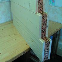 panneaux bois clt de grandes dimensions usage structural klh lignatec. Black Bedroom Furniture Sets. Home Design Ideas