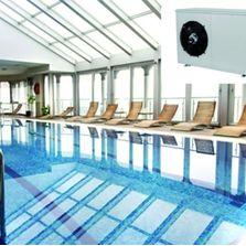 Pompes chaleur climatisation r versible produits du btp for Chauffage local piscine interieure