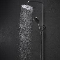 colonne de douche tout inox pour piscines ou plages cobra blinox. Black Bedroom Furniture Sets. Home Design Ideas