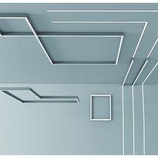 Plafonniers suspensions et structures lumineuses for Exterieur vert targetti