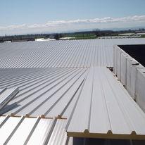 panneaux isolants m0 pour toiture bardage ou cloison promistyl feu toiture arval. Black Bedroom Furniture Sets. Home Design Ideas
