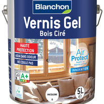 Vernis gel d'aspect ciré pour boiseries | Bois Ciré - Air Protect