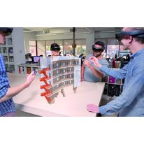 Solution BIM en immersion sur ordinateur holographique