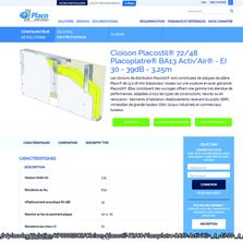 Configurateur de solutions de cloisonnement | Placolog