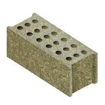 Bloc de coffrage isolant en b ton bois ciment isolation for Isolation copeaux de bois