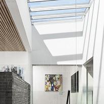 Verrière modulaire en résidentiel pour toits plats  | Verrière Modulaire