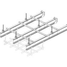 Accessoires pour faux plafonds produits du btp - Ossature metallique pour faux plafond ...