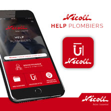 Application Nicoll à destination des plombiers | Help Plombiers