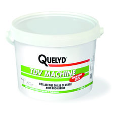 Colle vinylique pour toiles de verre | Quelyd TDV Machine