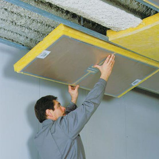 Plafond chauffant lectrique rayonnant knauf - Consommation plancher chauffant electrique ...
