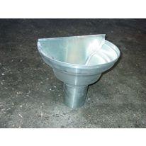 Pare graviers en acier galvanis ou inoxydable pour - Boite a eau zinc ...
