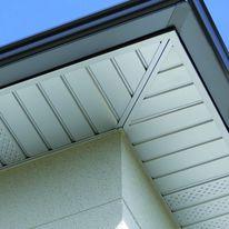 Habillage en aluminium laqué d'aspect lambris | Sous-face