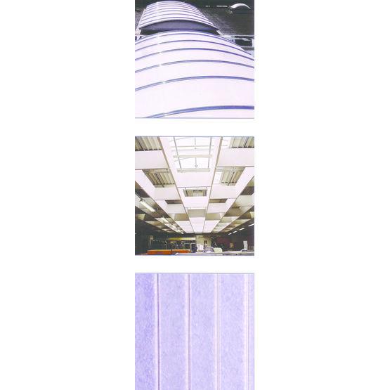 Plaques en polycarbonate nanogel isolation thermique for Plaques solars termiques