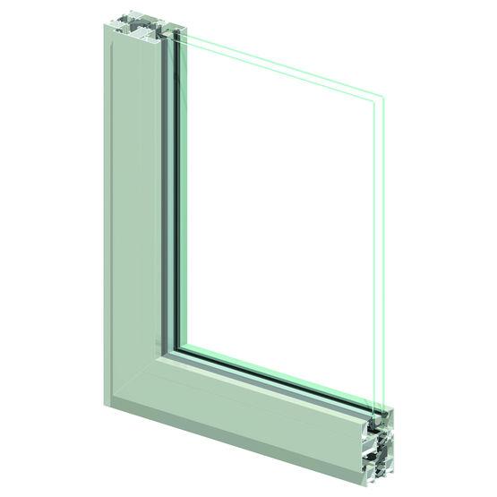 Fen tre et porte fen tre frappe en aluminium technal for Fabricant porte fenetre aluminium